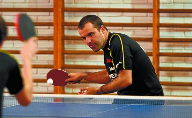 El Marpex Beraun de tenis de mesa cayó en casa ante el Mataró