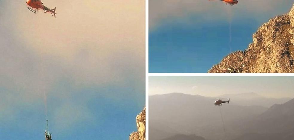 El último vuelo de la avioneta que se estrelló contra el monte Hernio