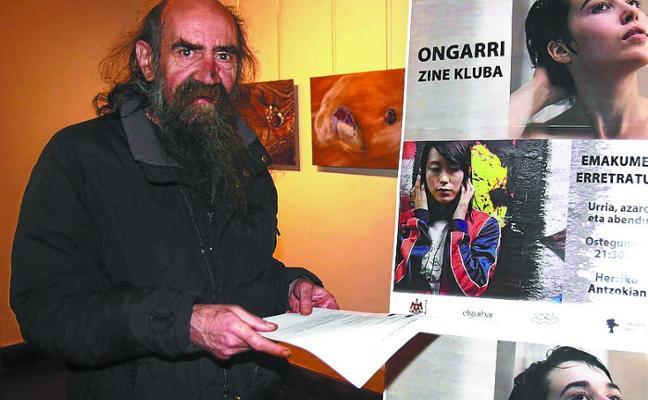 La muerte de Iñaki Agirre deja huérfano al cine-club Ongarri