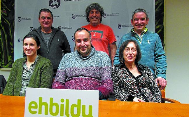 EH Bildu reclama un debate público sobre el modelo de la policía local