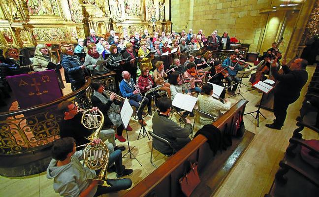 La Capilla de Música del Juncal y el Betiko Ametsa se unen en una misa-concierto