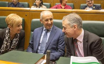El Gobierno Vasco salva su plan presupuestario y EH Bildu se niega a votarlo