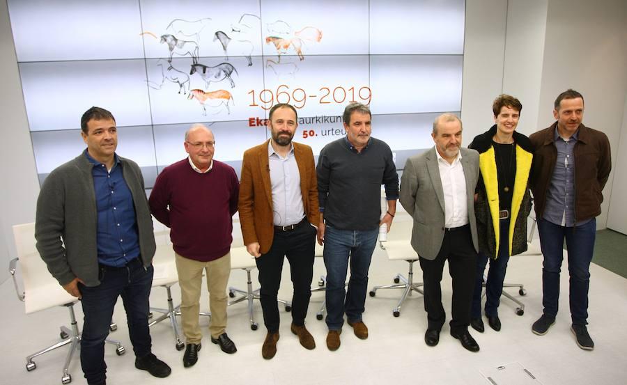 Ekain celebra el 50 aniversario de su descubrimiento