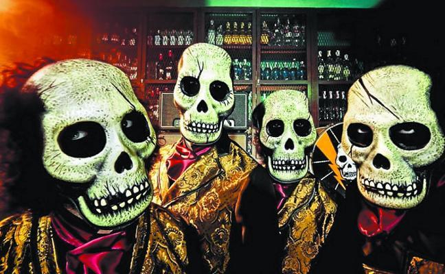 El surf-rock de Los Tiki Phantoms abre un variado fin de semana
