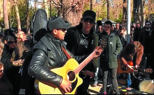 Músicos se manifiestan contra la restricción de conciertos en los bares