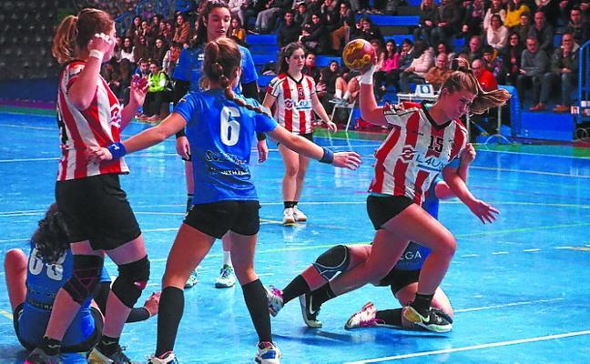 El Lauko no falló ante el Errotabarri (10-19) y el Alcorta se impuso al Egia Kopidin (25-28)