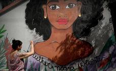 La lucha de Marielle Franco aún 'vive' en las paredes de Sao Paulo