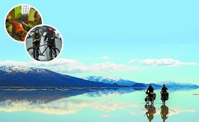 Una aventura en bicicleta sin fecha de vuelta