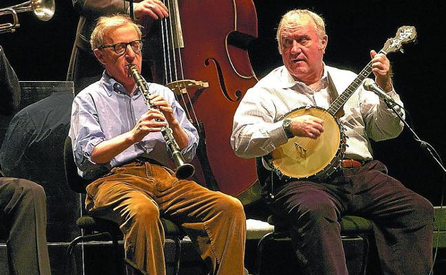 Woody Allen y su banda de jazz volverán a actuar en Bilbao