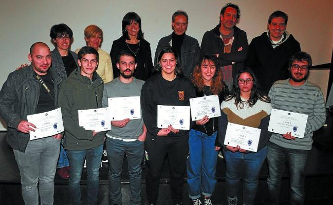 Iker Casado gazteak berriro irabazi du Andoain Laburrean bideo lehiaketa