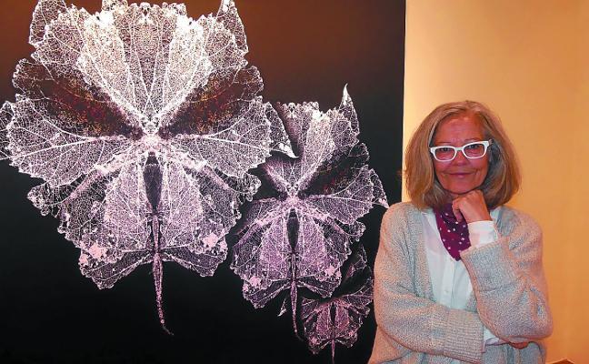 Marijose Cueli Zabala expone su trabajo en Juan de Lizarazu