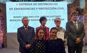 Carmelo Arrizabalaga, Medalla al Mérito de Emergencias de Euskadi