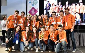 Overclock Axular se clasifica para la final estatal de la 'First Lego League Euskadi'