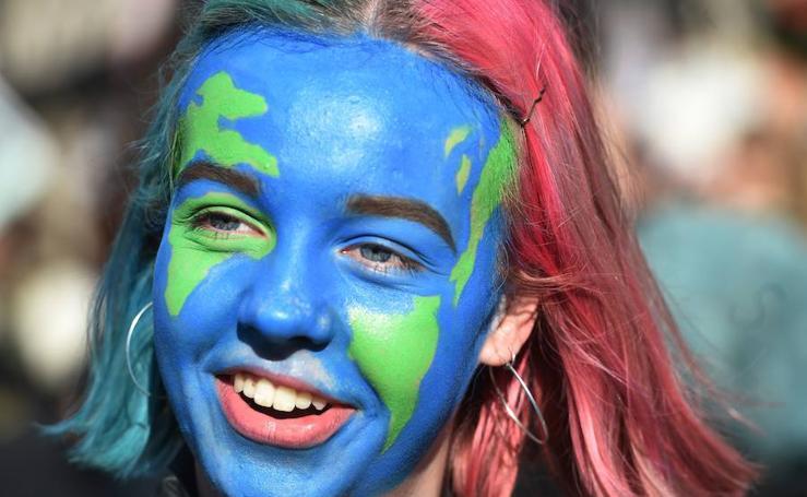 Estudiantes contra el cambio climático