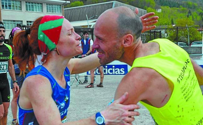 Arantza y Bera, puntuables para el campeonato navarro de carreras por montaña en línea