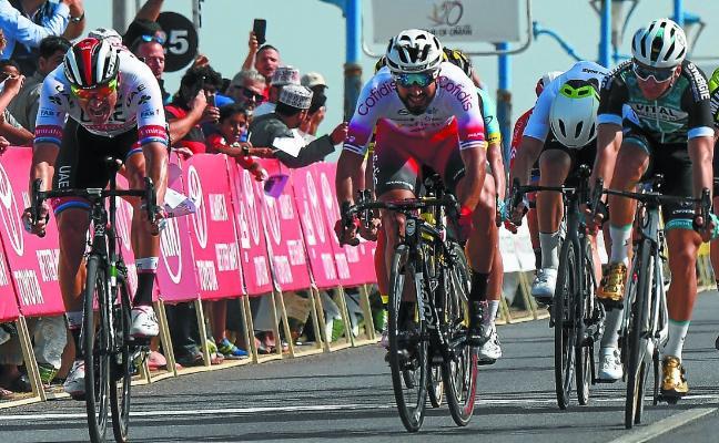 Mikel Aristi, sexto en el sprint del Tour de Omán