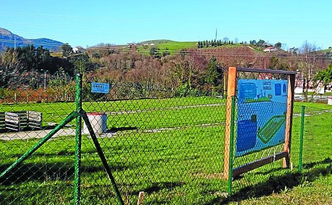 Abierta una nueva convocatoria para obtener una parcela en el parque de huertas Keretxudi