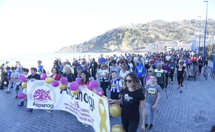 Marcha contra el cáncer infantil