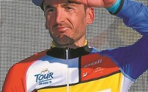 Gorka Izagirre y el maillot del quinto Tour de Hinault