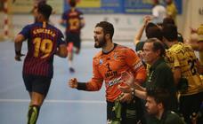 Digna derrota del Bidasoa-Irun ante el Barcelona