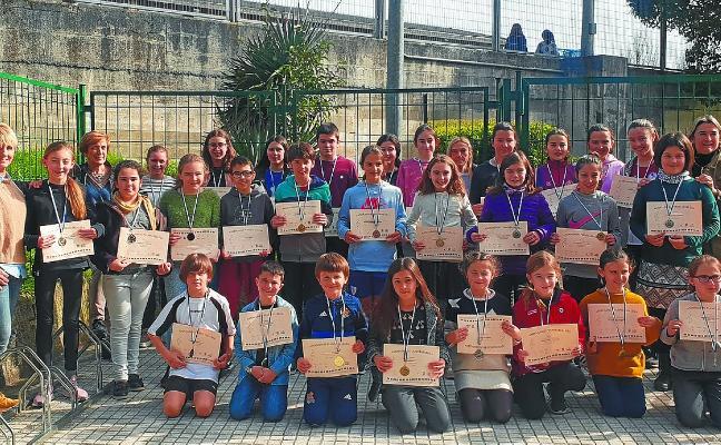 Los alumnos de Musika Eskola regresan con seis medallas de oro y veintidós de plata