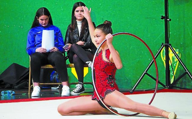 El espectáculo de la gimnasia tomó Uarkape