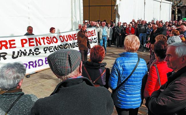 Los pensionistas piden que se defiendan sus propuestas en la campaña electoral