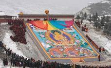 Sunbathing Buddha Festival