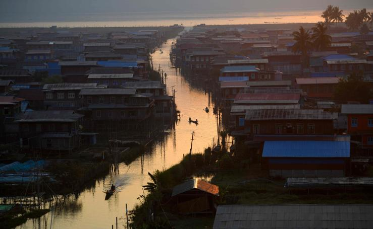 Conoce el Estado de San, el centro de Birmania
