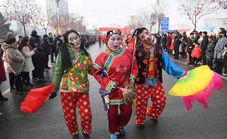 China despide el Festival de Primavera