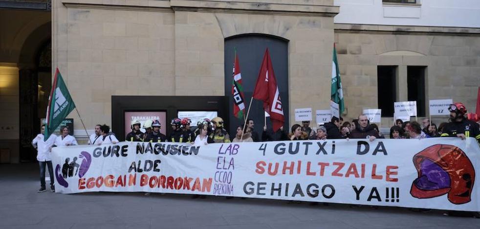 Las residencias de Gipuzkoa afrontan 19 días de huelga a partir de mañana lejos de alcanzar un acuerdo