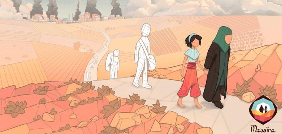 Ponerse en la piel de los refugiados a través de un videojuego