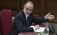 Turull dice en el Supremo que se saltó la ley «por mandato popular»