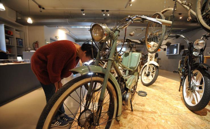 Cuando Eibar puso motor a la bicicleta
