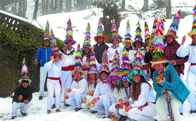 El carnaval rural, en Interesgunea
