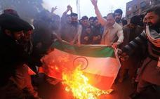 India caldea Cachemira con un bombardeo en suelo paquistaní