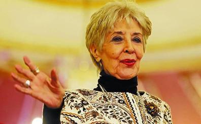 Concha Velasco: «Mi gran maestro fue Luis Escobar y no Sáenz de Heredia, de quien me enamoré»