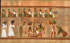 El 'Papiro de Ani', un libro divino de la muerte