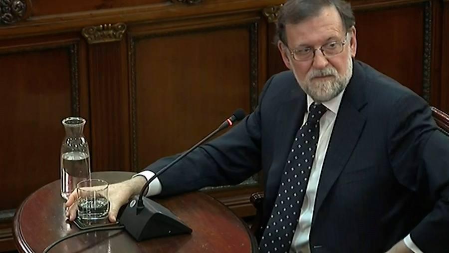 «¿Urkullu? Allí no hubo ningún mediador de nada», declara Rajoy en el juicio al procés
