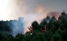 La Fiscalía abre diligencias para investigar los fuegos en Aralar y Jaizkibel