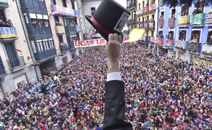 Arranca el carnaval en Tolosa