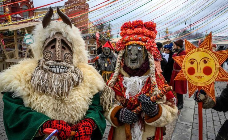 Shrovetide, el carnaval ruso