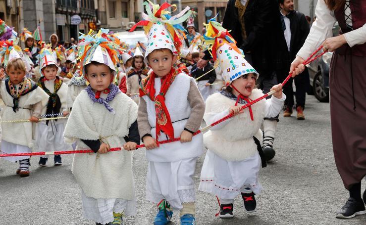 Los más pequeños arrancan el carnaval en Eibar