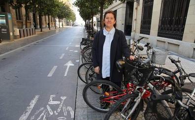 Miren Urquijo: «Aunque parezca lo contrario, Donostia no es una ciudad amable para el ciclista»