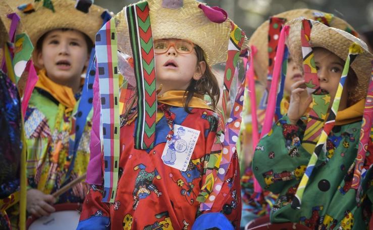 Sábado de carnaval en Tolosa