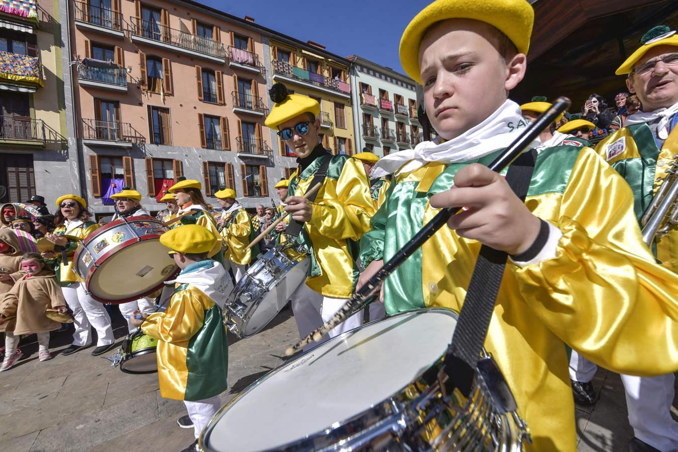 Último día de carnaval en Tolosa
