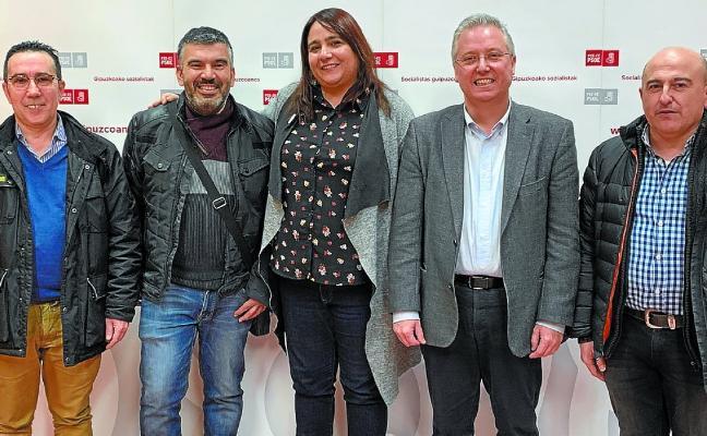 Eva Álvarez, candidata a la Alcaldía beasaindarra por el PSE-EE