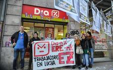 Trabajadoras de DIA secundan el tercer día de huelga, que será indefinida a partir del día 11