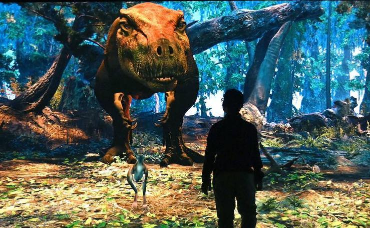 El temido T Rex 'resucita' en Nueva York