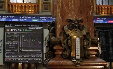 El Ibex-35 se queda a las puertas de los 9.300 pese al apoyo de los grandes bancos
